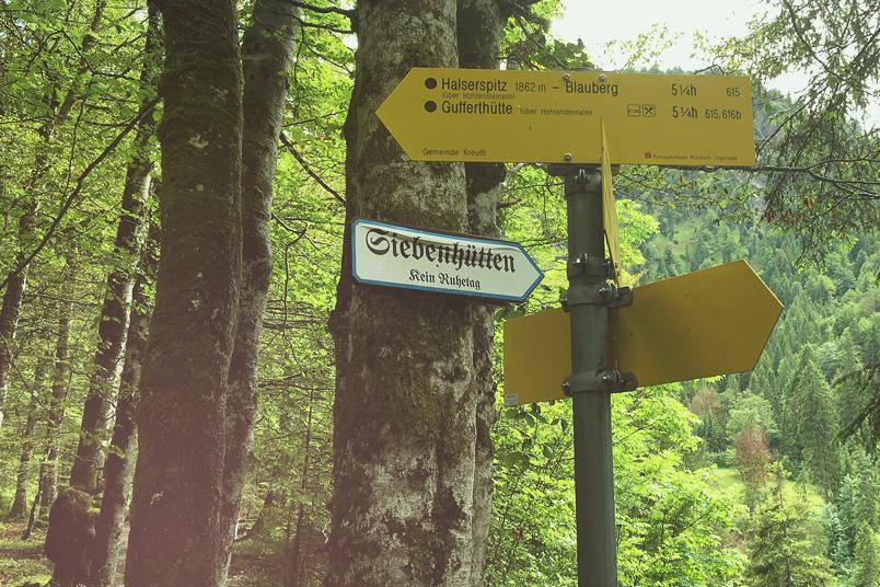 Achtsamkeitsritual: Tourist in der eigenen Heimat. Ein Blogpost auf ZENtreasures.de