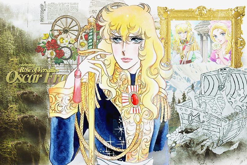 Kindheitshelden: Oscar aus Lady Oscar/Die Rosen von Versailles