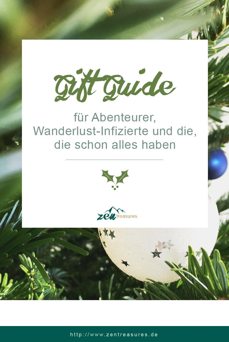 Gift Guide: Geschenke für Minimalisten, Abenteurer & Wanderlust-Infizierte