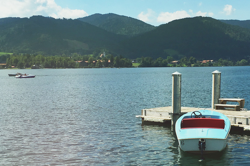 Tegernsee - ZENtreasures.de Monthly Recap - August 2016