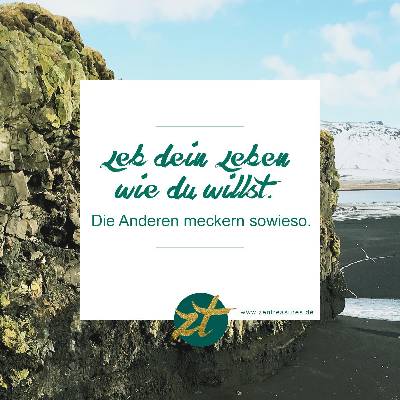 Zitat des Monats Februar auf ZENtreasures.de