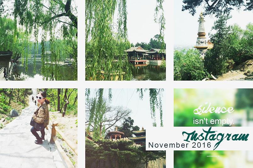 Instagram Recap auf ZENtreasures.de mit Reisebildern aus Peking.