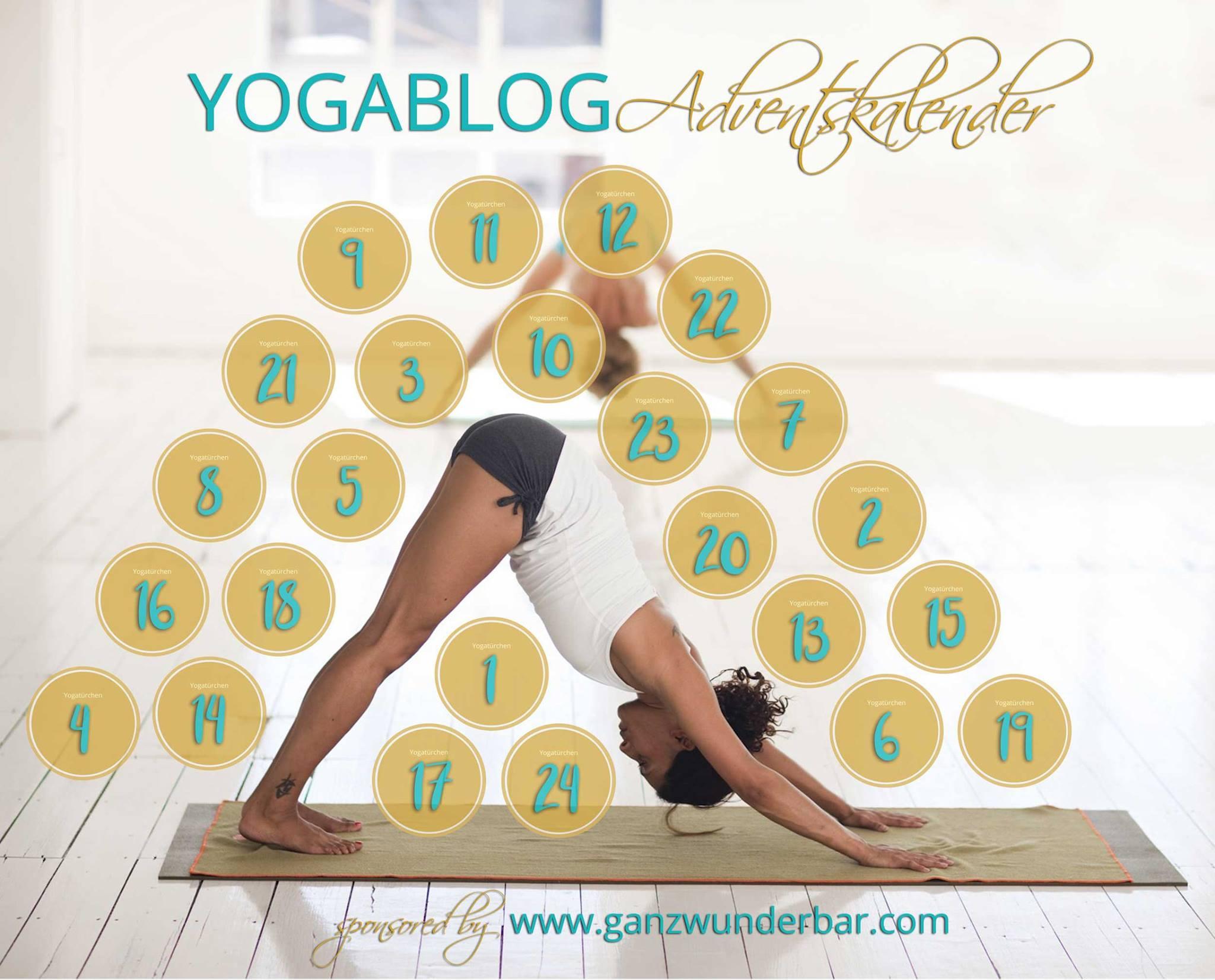 Der Yoga Blog Adventskalender 2017