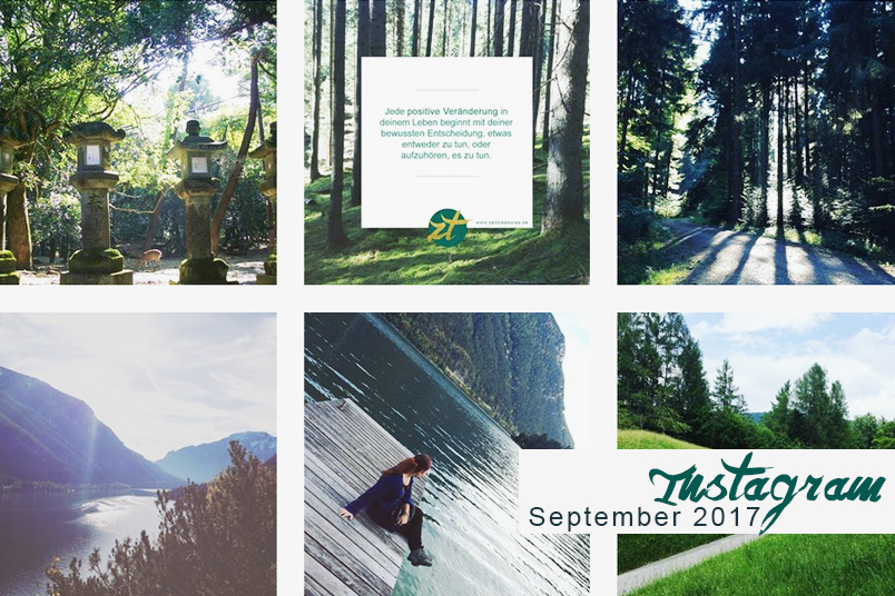 Monthly Recap September 2017 - Instagram Zusammenfassung mit Reisefotos aus Japan, motivierenden Zitaten und dem Achensee in Tirol