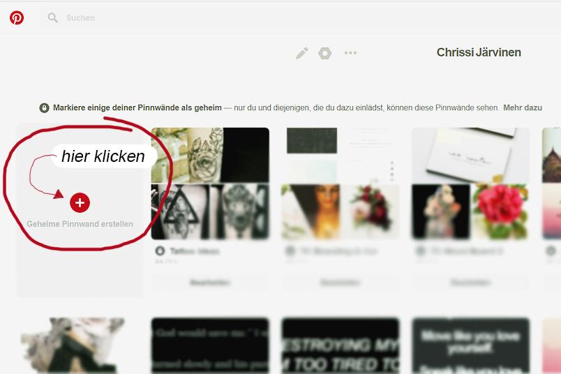 So erstellst du dir dein Vision Board mit einem geheimen Pinterest-Board