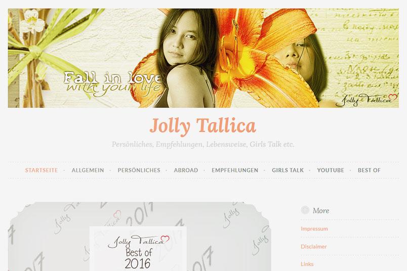 Interview mit Jolly von Jolly Tallica. ZENtreasures.de