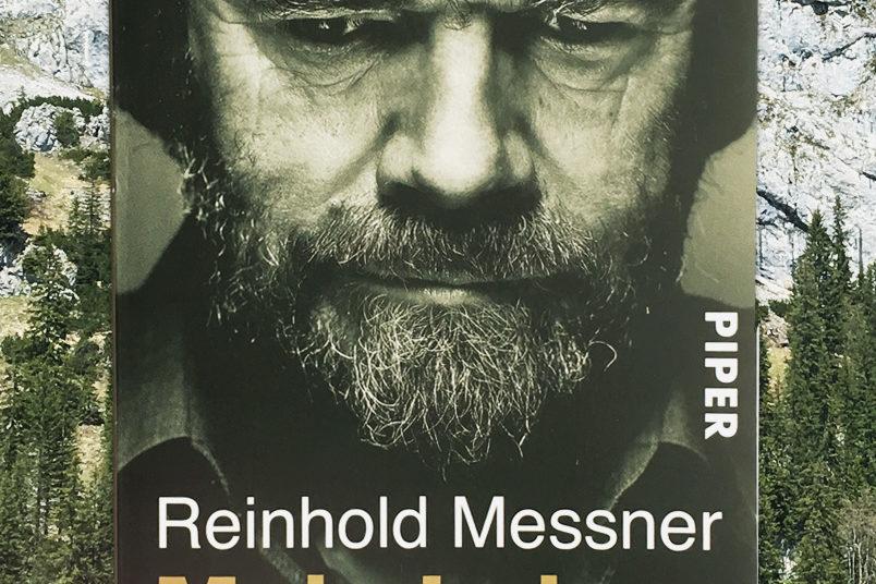 Buchreview Reinhold Messner - Mein Leben am Limit. Blogparade #meinBergbuch.