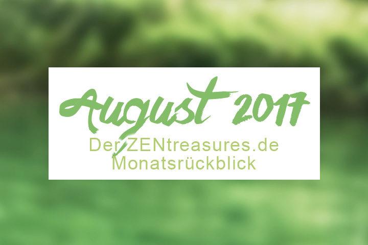 Monthly Recap August 2017