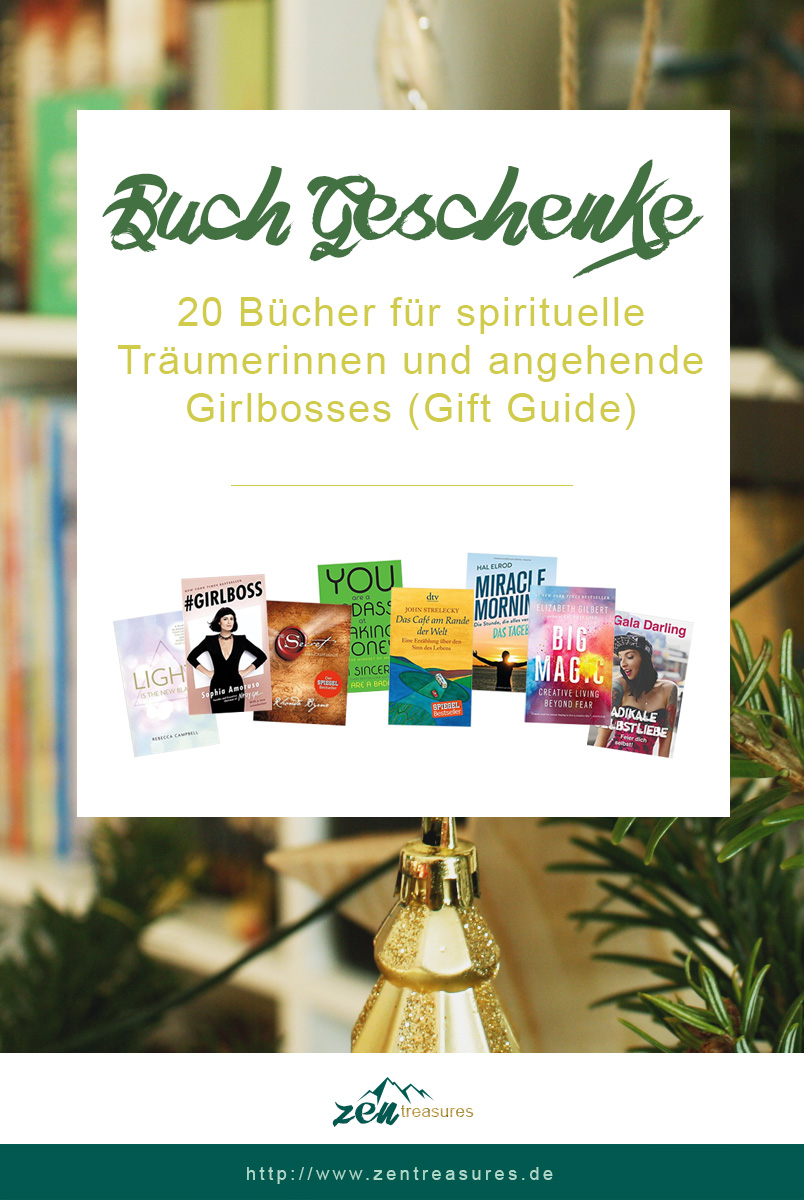 20 Buch-Geschenke für spirituelle Träumerinnen und angehende Girlbosses