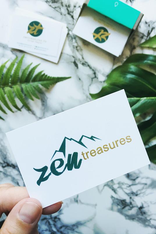 ZENtreasures.de Visitenkarten