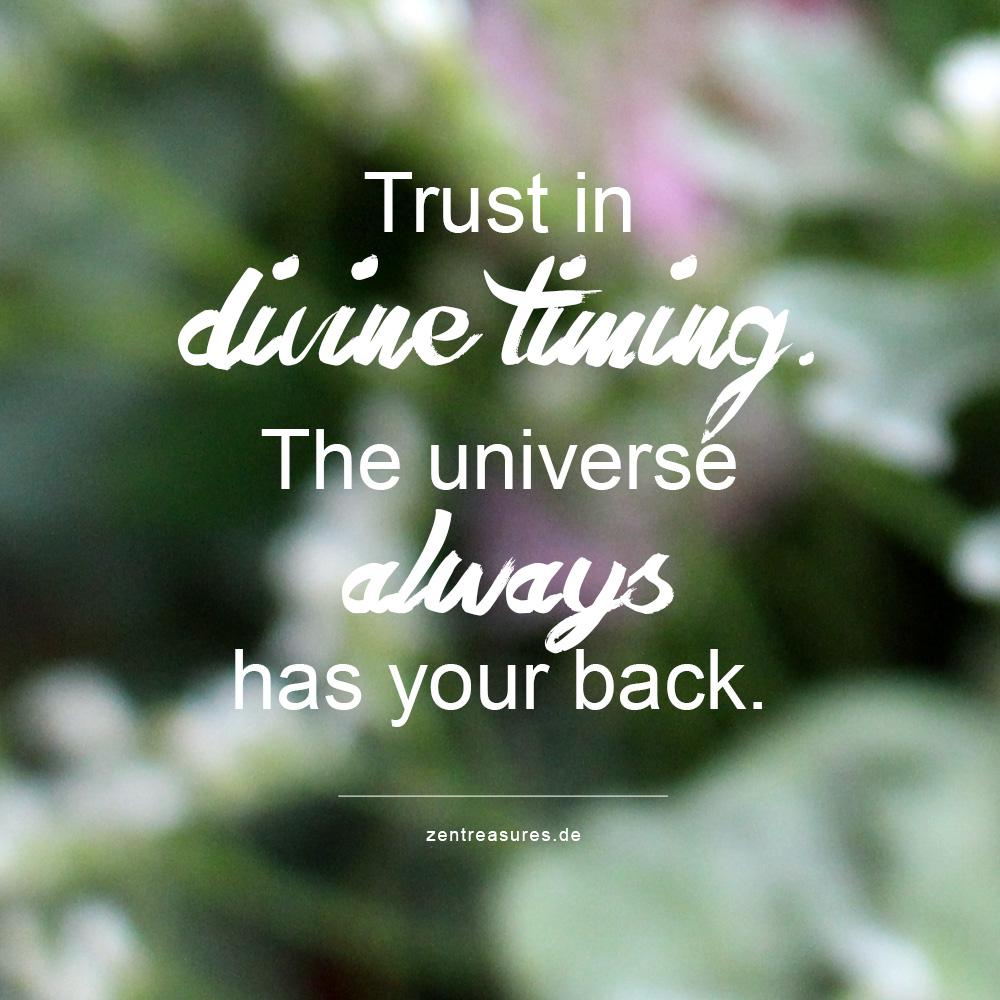 Warum du immer auf das Universum vertrauen solltest
