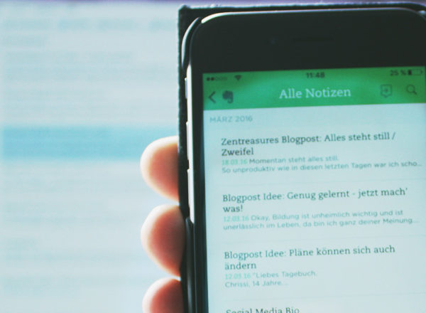 Evernote: Mobil- und Desktop-Version