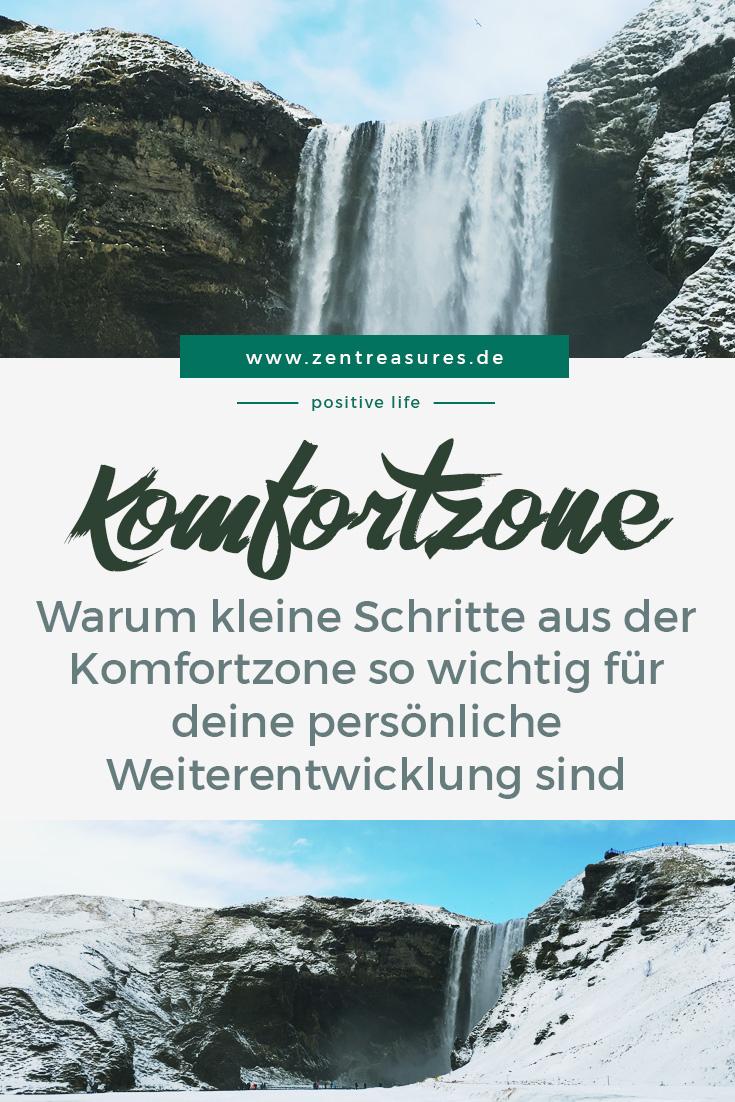 Tu, was du kannst. Die Komfortzone verlassen || www.zentreasures.de